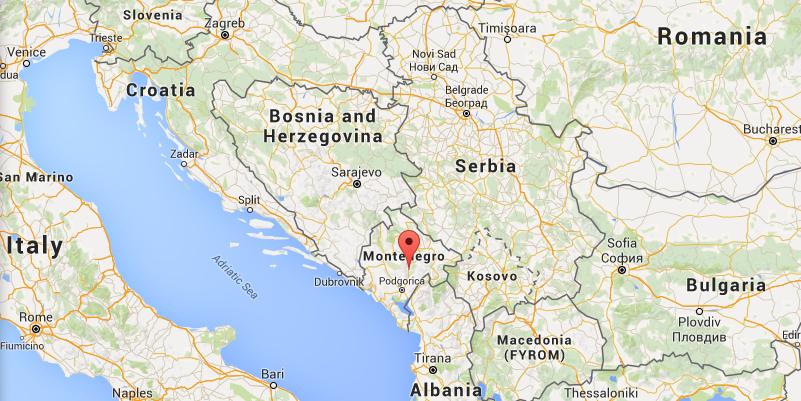 montenegro-map